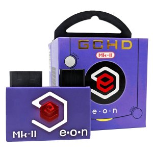 画像1: EON GCHD Mk-II Indigo(ブルー) - (Ver.2) Gamecube HD Adapter