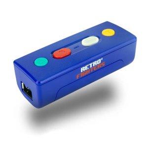 画像1: Retro Fighters Retro Fighters Warrior Wireless Adapter for Switch & PC (Blue)